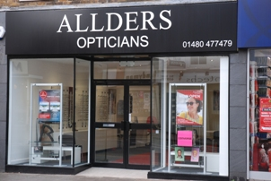 0d0f119a9ce4 An on-going modernisation programme at Allders Opticians has led to the  opening of a larger high street premises in St Neots