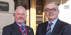 Barry Dibble and Mark Truss FMO