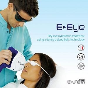 7c1648268a3 The E-Eye is a unique patented Intense Regulated Pulsed Light treatment  (IRPL) which stimulates the parasympathetic nerve and Meibomian glands