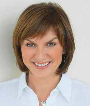 Fiona Bruce TV star and VAO ambassador