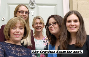 The Gravitas PR Team for 100% Optical