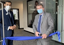Opening Of Optical Express Clinic in Dartford