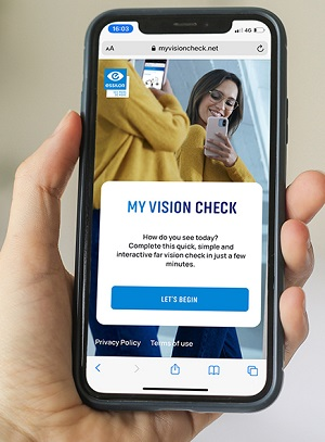 My Vision Check app from Essilor
