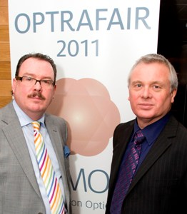 Andrew Yorke and Barry Dibble, Optrafair