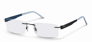 The R 2275 Beta Titanium model for men features stylish two-coloured large  and thin sides with a rimless frame. The design is available in five  colours ... 2564d6580d7d
