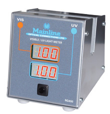UV Meter from Mainline Optical Connections