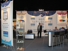 Ultravision stand at BCLA