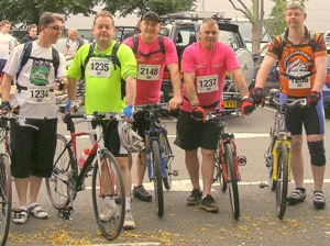 Ultravision CEO completes cycle challenge