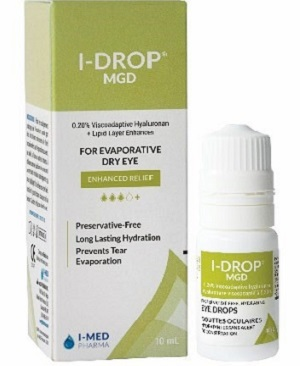 Exclusively available in the UK through Grafton Optical, I-DROP® MGD Viscoadaptive Tears