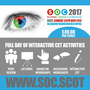 Grafton at Scottish Optical Show