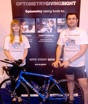 Optoms cycling for sight