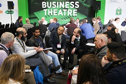 Business  Theatre at Optrafair