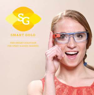 Prescription smart glass