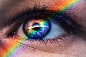 HR Rainbow eye