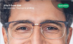 Specsavers Smile Campaign