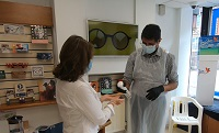 Toucan Eco Cleaning at Suttie Opticians